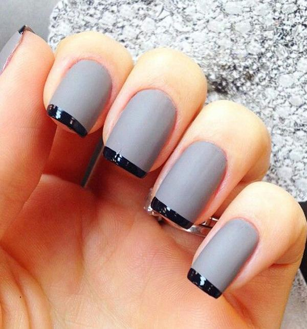 35 Gray Nail Art Designs Cuded