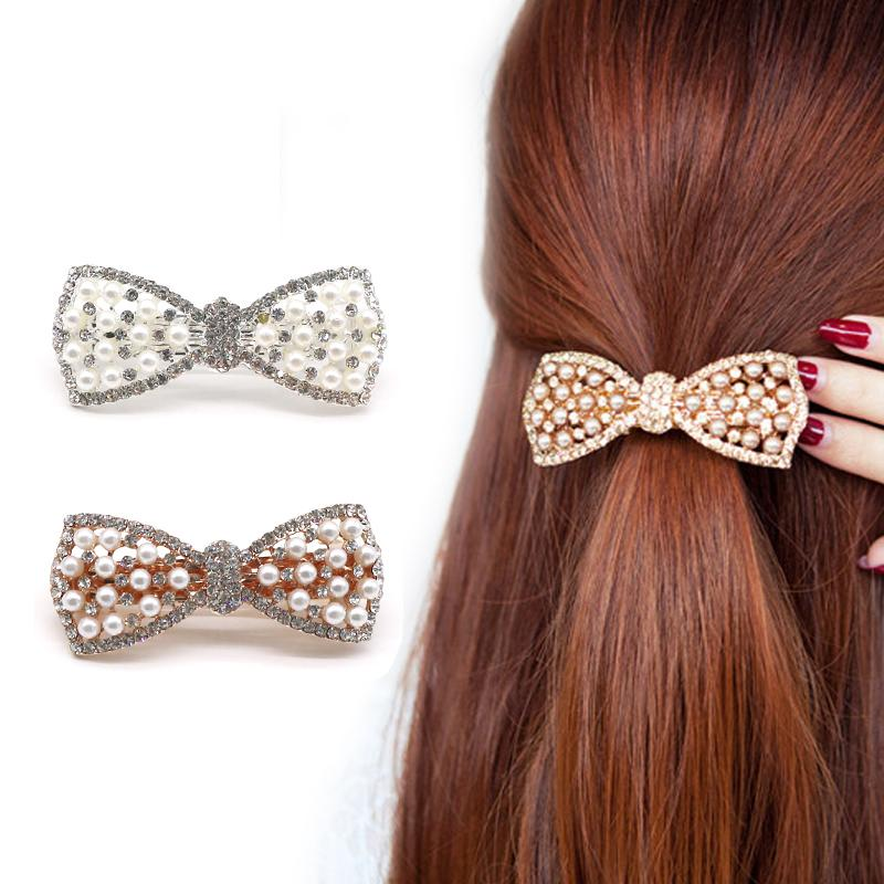 Crystal Rhinestone Hair Clips Scrunchy Donut Big Hair Pins Metal Clip Haipins Accessories For Women Lady Hair Barrette Barrettes For Thick Hair From Eugenel 17 84 Dhgate Com