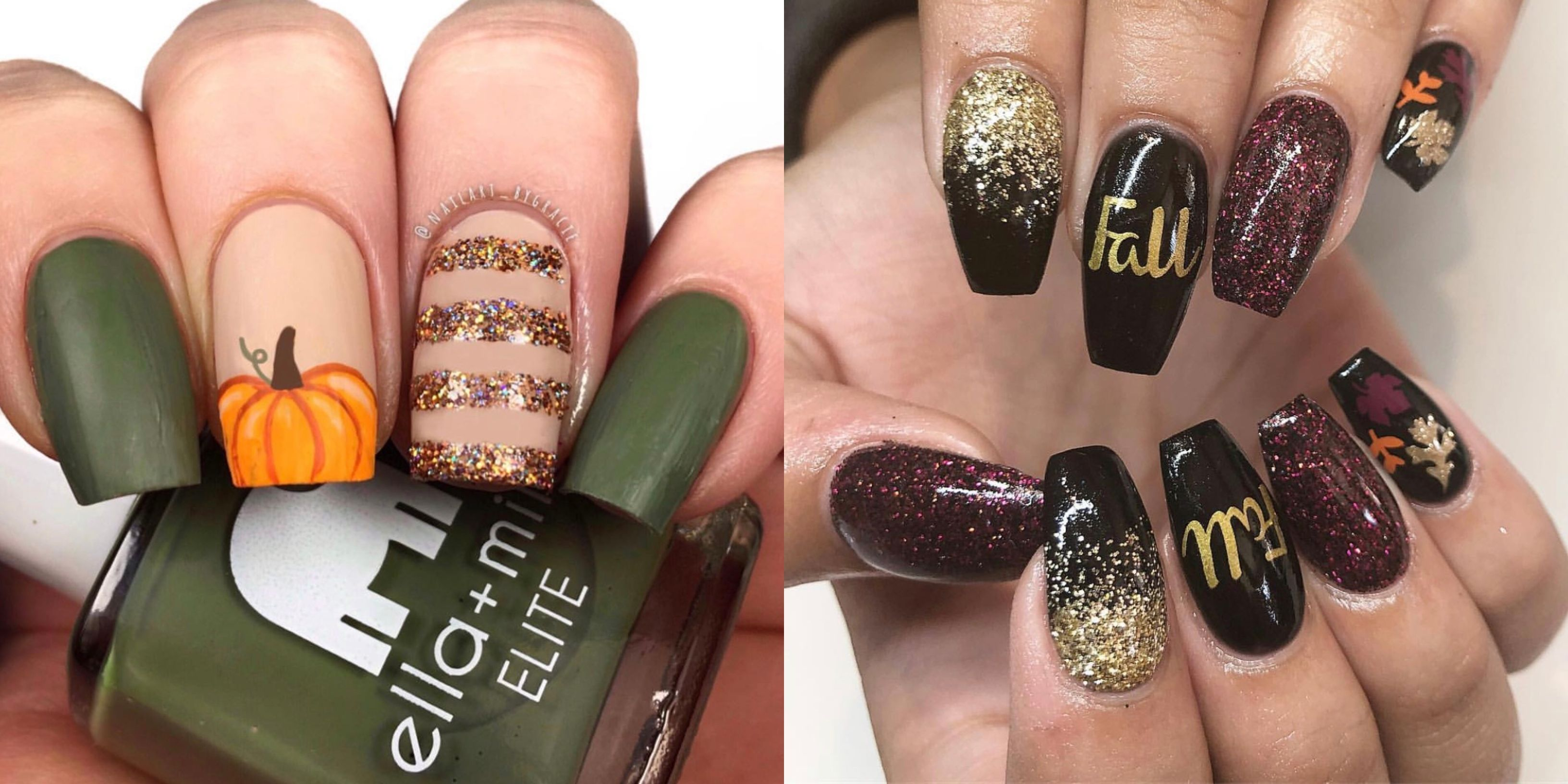 20 Best Fall Nail Designs Fall Nail Art Ideas