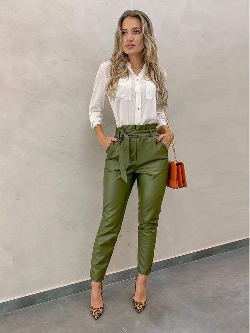 What To Wear With Green Pants 32 Casual And Business Looks