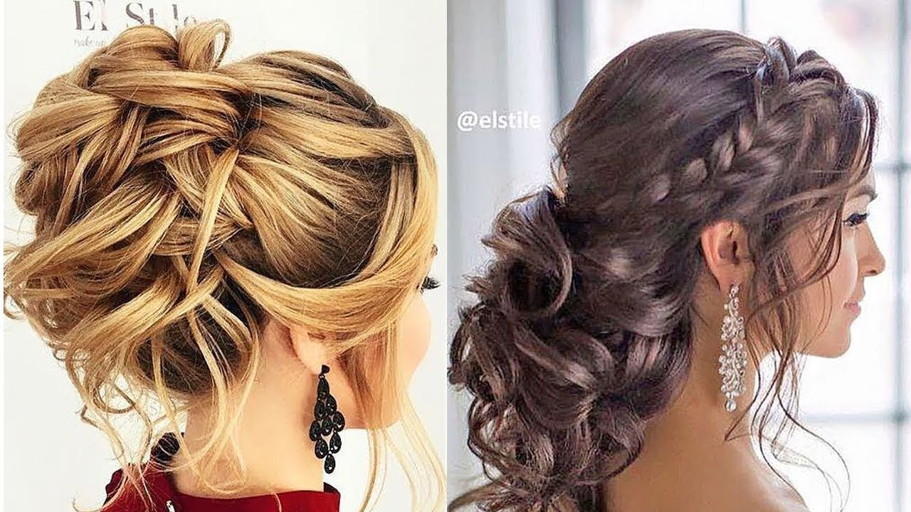 12 Romantic Prom Wedding Hairstyles Professional Hair Ideas 2019 Youtube