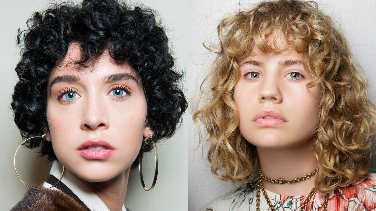 20 Most Outstanding Curly Hairstyles With Bangs Haircuts Hairstyles 2020