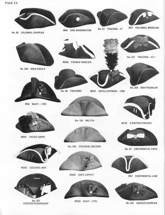 Types Of 18th Century Hats Frugal Antoinette